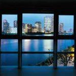 インナーバルコニーからの眺望(夜景)