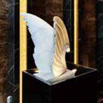 彫刻「Brilliant wind」